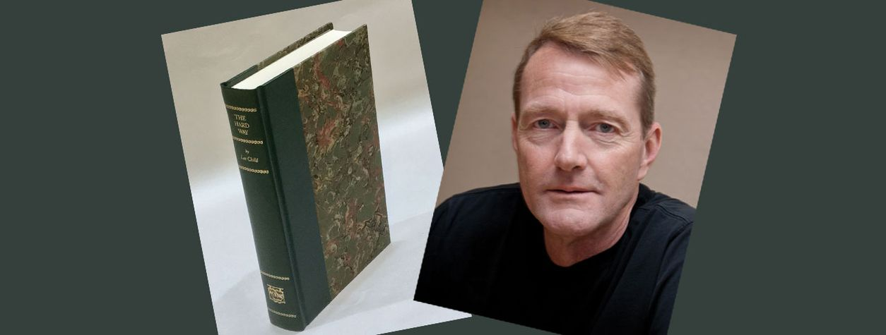 [CLOSED] GIVEAWAY: Limited Edition, Signed Copy of Lee Child's <em>The Hard Way </em>